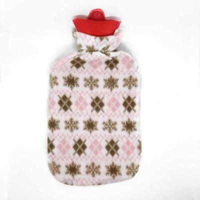 sıcak su torbası Kar desenli