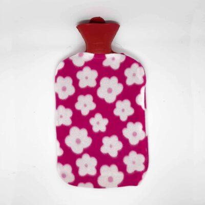 sıcak su torbası Pembe çiçekli
