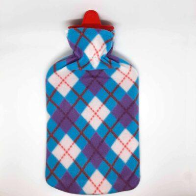 sıcak su torbası ekose
