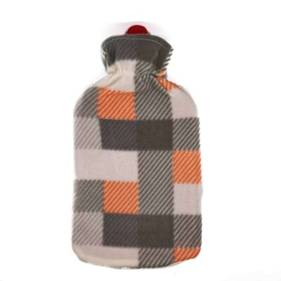 sıcak su torbası kareli